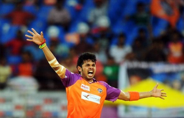 Sreesanth has represented three different franchises in his IPL career