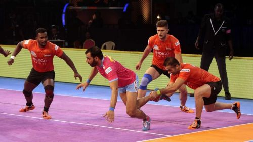 Captain Cool, Anup Kumar could just manage 4 points against U Mumba.