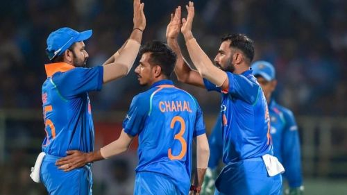 Shami looked sharp in his second spell in the second ODI
