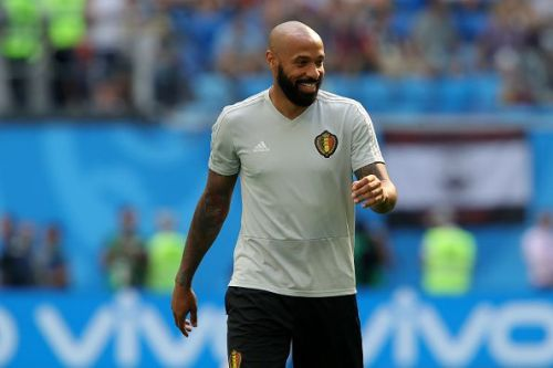 Thierry Henry previously worked with Belgium's national team as an assistant manager.