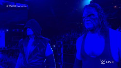 Some of the verbiage provided to The Undertaker and Kane was awful