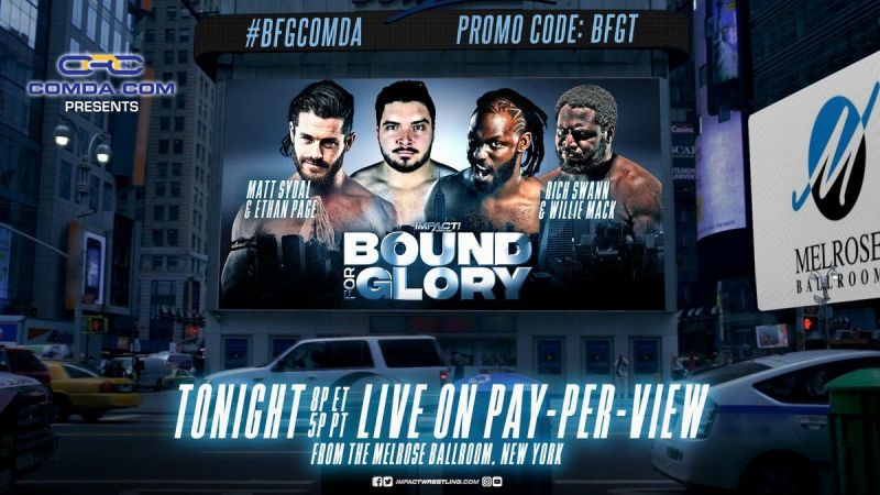 Will Swann and The Mack find their third eyes against Sydal and Page?