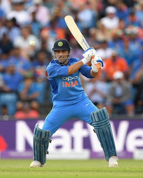 Dhoni has struggled with the bat in recent times