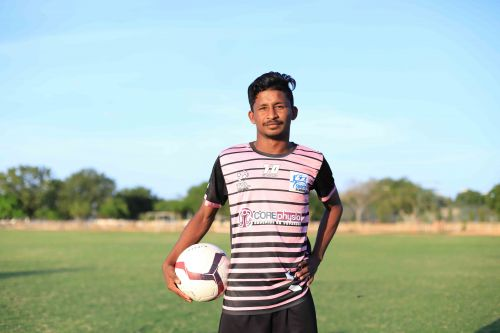 Shaik Khaleel was at the forefront of his team's winning run