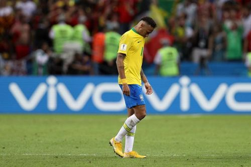 Neymar had a disappointing World Cup in Russia