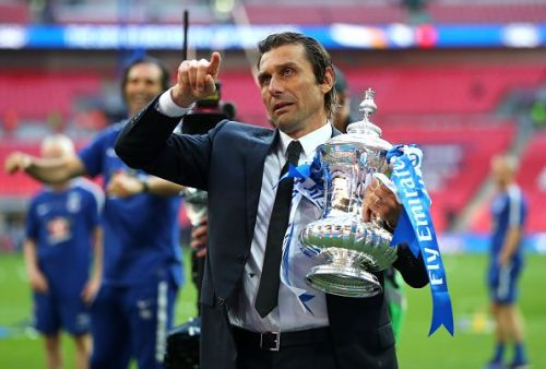 Conte has a history of winning trophies