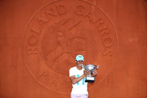 Rafael Nadal Photocall After French Open Victory