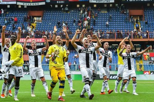 Parma are comfortably mid-table at the moment