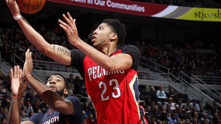 Anthony Davis exploded for a career-high 59 points to defeat Pistons. Credits: NBA
