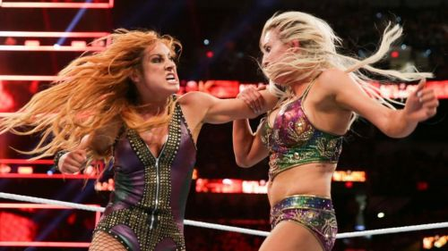 Becky Lynch and Charlotte Flair: Heated Rivalry