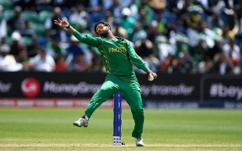 Imad Wasim conceded just 8 runs in 4 overs.