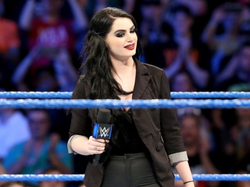 Paige introducing Dean Ambrose?