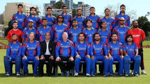 The Afghanistan team for the ICC 2015 World Cup