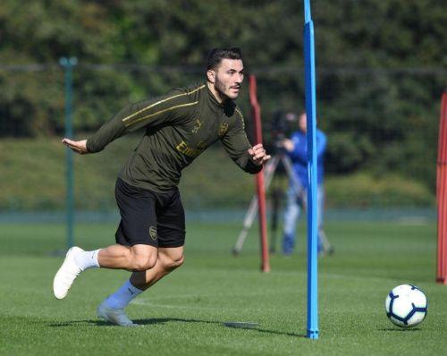 Sead Kolasinac returned to full first-team training