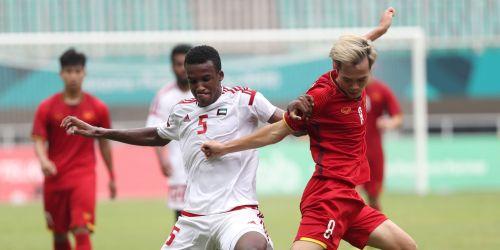 UAE's number five Majid Rashid scored a couple against Taipei (Image Courtesy: Foxsports Asia)