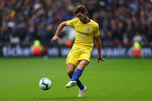 Alonso has a tendency to score goals from defence