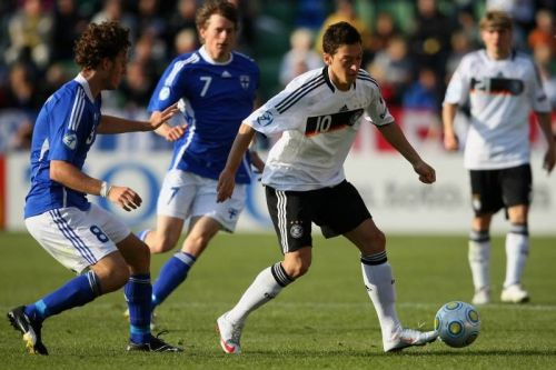 As a young player, Ozil was more interested in passing the ball to his friends so they'd score than being the best.