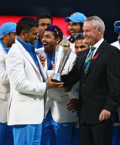 With Champions Trophy 2013 under his belt, MS Dhoni became the first captain to win all 3 ICC Tournaments