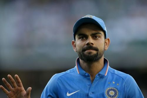 The Indian skipper was in sublime form in the first ODI against the West Indies