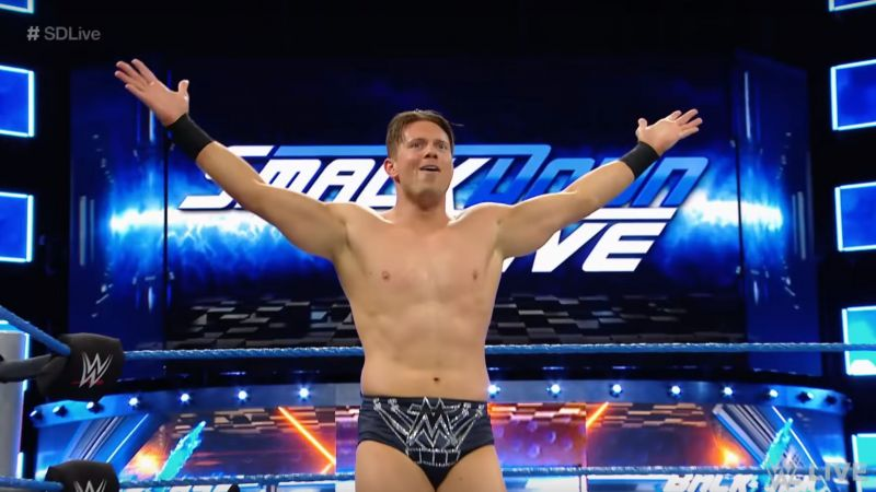 The Miz looks like a serious contender