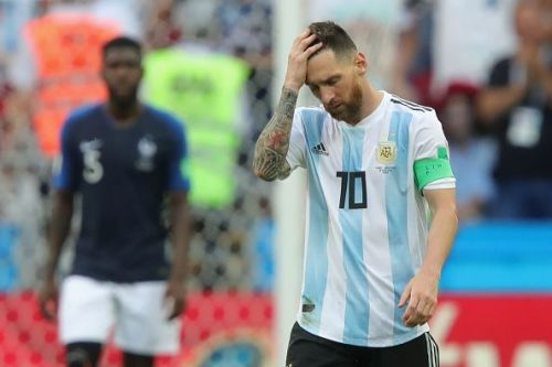 Lionel Messi has not represented Argentina since the World Cup