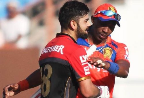 Kohli's first IPL century for RCB wasn't sufficient enough as Gujarat Lions won that match