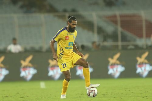 Sandesh Jhingan will be marshalling Kerala's defence once again [Credits: ISL]