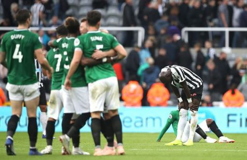 Newcastle United lost 0-1 to Brighton at home on Saturday