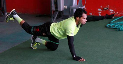 Mushfiqur Rahim started his rehabilitation