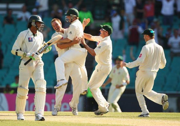 Second Test - Australia v Pakistan: Day 4