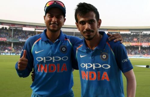 The Kuldeep-Chahal duo has been instrumental in India's success