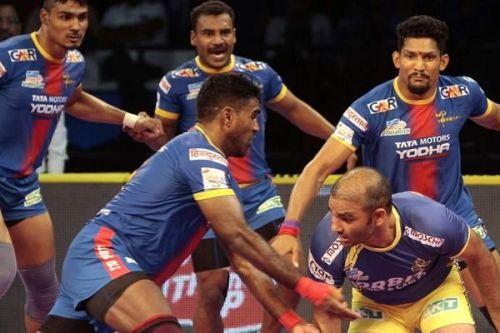 Jasvir Singh had a good outing against the Warriors