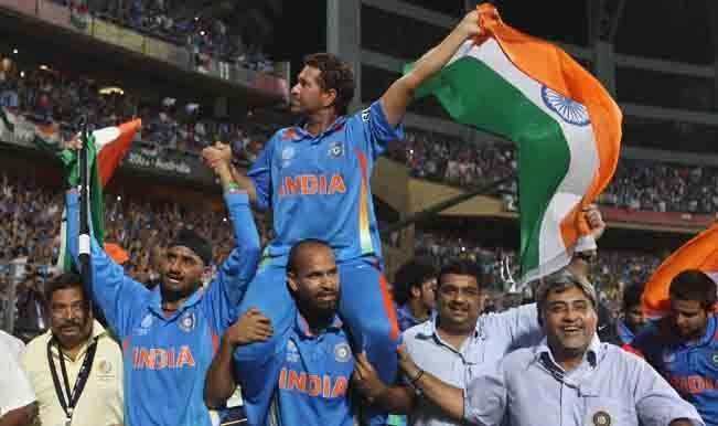 Sachin finally realized his dream in 2011