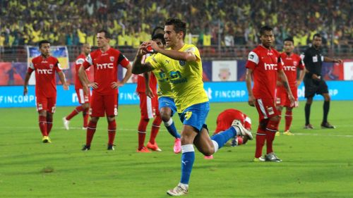 In the very first match of his ISL career, Josu scored for his side against NEUFC