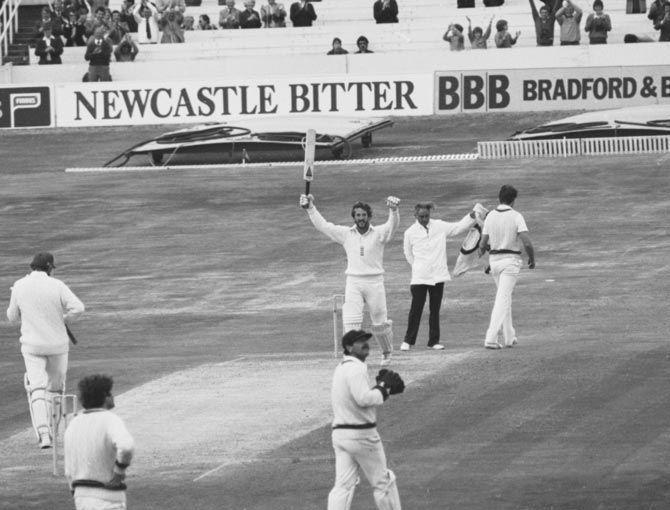Ian Botham scored a brilliant 149 following on