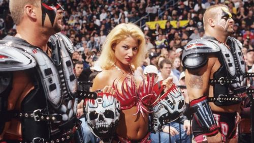 Tammy Sytch was aligned with the Road Warriors