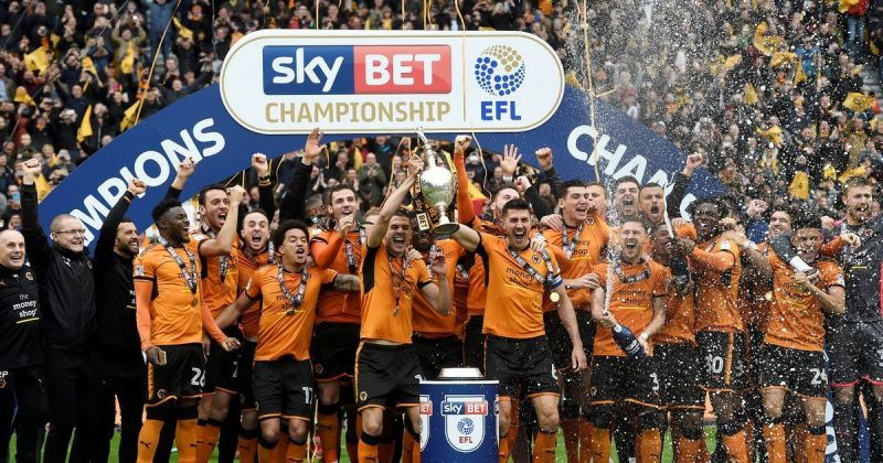 Wolves won the 2017-18 EFL Championship with a record points tally of 99