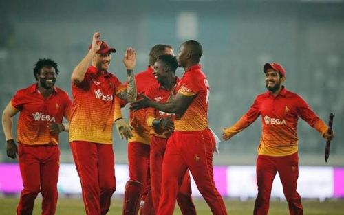Zimbabwe have not been able to stem the bleeding