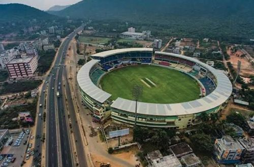 The ACA stadium in Vizag is set to host second ODI between India and West Indies