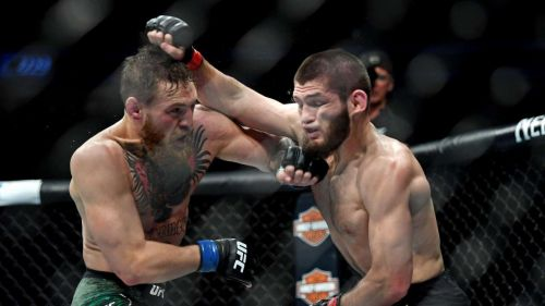 McGregor was dominated by Khabib throughout the fight