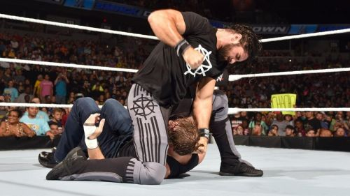 Seth would be looking to knock some sense into Dean's head.