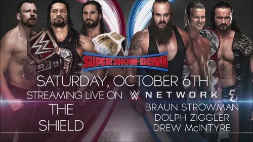 It looks to be the potential main event of the show