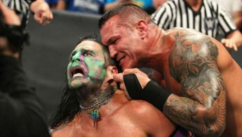Orton brutally attacks Hardy