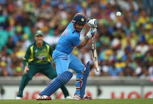Rayudu has not been a regular in the Indian team in spite of being around for a long time