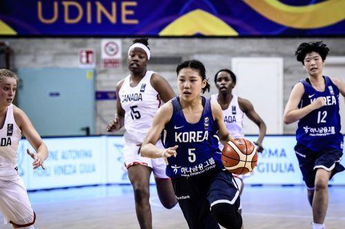 Jihyun Park of Korea jersey Number 5 (Image Courtesy: FIBA)