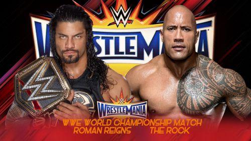 The Rock vs Roman Reigns