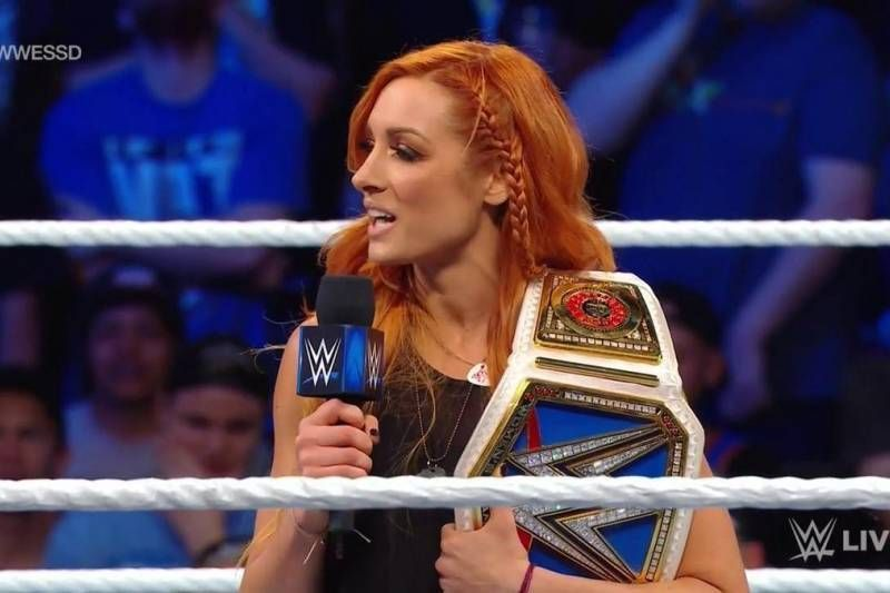Becky Lynch SmackDown October 2