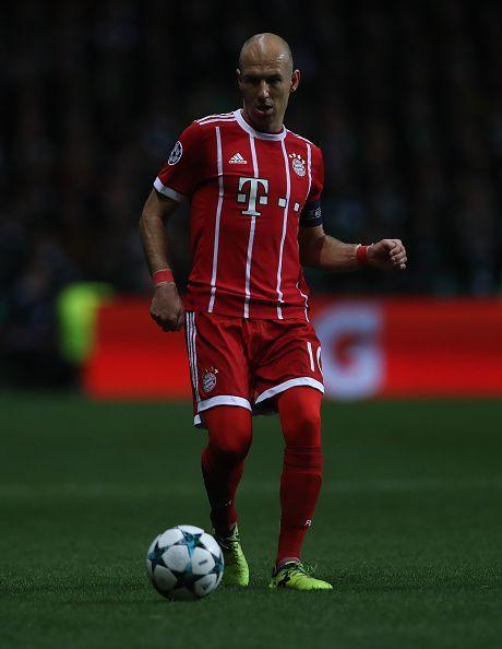 Robben is still an integral member of the Bayern team