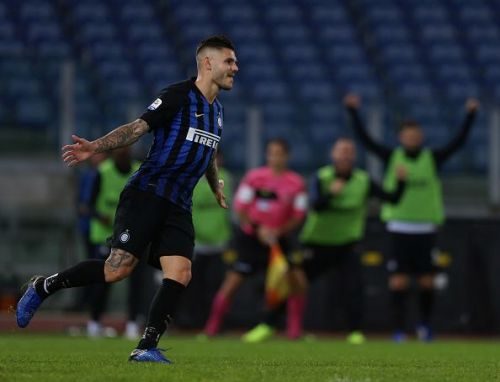 Icardi has been consistently scoring goals for Inter Milan.