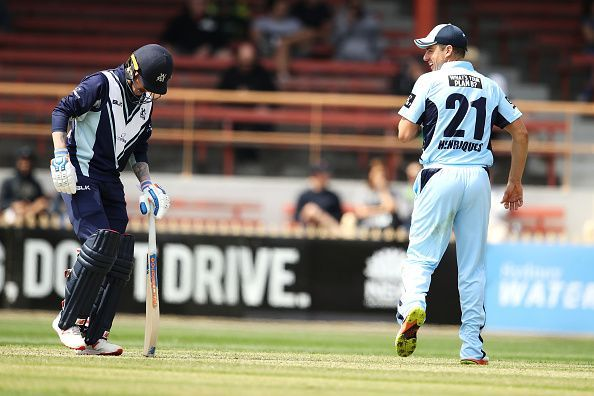 NSW v VIC - JLT One Day Cup